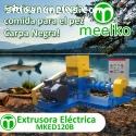 Extrusora Meelko peces 500kg - MKED120B