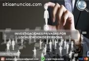 Investigación Localización de persona