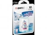 LLAVE MAYA 16GB EMTEC MISS PENGUIN