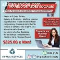 Manejo de Redes Sociales a Excelentes Pr