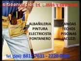 MANTENIMIENTO DE CASAS, OFICINAS, PISCIN