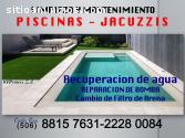 MANTENIMIENTO DE PISCINAS Y JACUZZIS