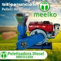 Máquina Meelko de hacer pellets  120 mm