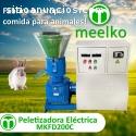 Maquina Meelko para pellets  madera 200
