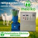 Maquina Meelko para pellets madera 260mm