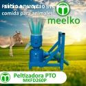 Maquina Meelko pellets madera 260  PTO