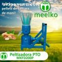 Máquina para pellets madera 200 mm PTO