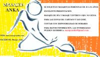 Masajista femenina para Tres Rios