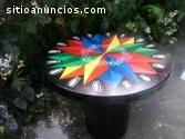 Mesa diseño típico costarricense