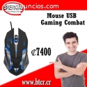 Mouse USB Gaming Combat
