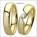 Mundoanillos Matrimonio Oro Amarillo