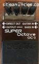 Pedal Guitarra Super Octave Oc 3