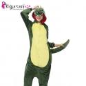 Pijama de dinosaurio verde - Tienda Kigu