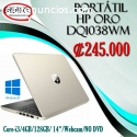 Portátil HP Color Oro