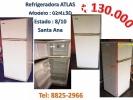 Refrigeradora ATLAS 2 puertas, 8/10