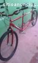 Vendo Bicicleta tándem doble pasajero