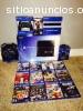 venta Sony PS4 console con 4 juegos $150