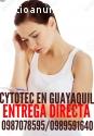 ABORTO SEGURO CON CYTOTEC EN GUAYAQUIL
