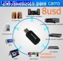 Adaptador estéreo USB Bluetooth para car
