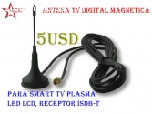 Antena HDTV/ TV digital a 5usd