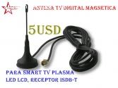 Antena HDTV/ TV digital a 5usd