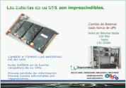 Cambio de baterias de UPS - Instalación