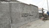 Construcción de cerramientos