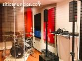 Construimos estudios de grabación