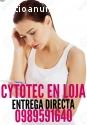 PASTILLAS ABORTIVAS CYTOTEC EN LOJA