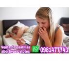 Pastillas abortivas  cytotec0981477743