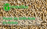 Planta de Coffe Husk en pellets MEELKO