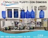 planta de llenado de 800-1000 botellones