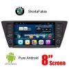 Skoda Fabia 2015 2016 android GPS WIFI