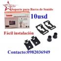 SOPORTE  PARABARRA DE SONIDO 10 USD
