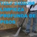 Telf 0996818473 LIMPIEZA DE PISOS DE HOR