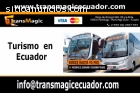 Transporte turístico en Quito - Ecuador