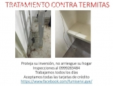 TRATAMIENTO CONTRA TERMITAS 0999283484