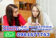 Tulcan pastillas cytotec 0981477743