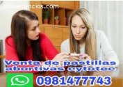 Venta cytotec en PUJILÌ 0981477743