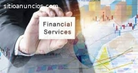 We offer financial services