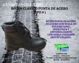BOTINES PUNTA DE ACERO  QUITO