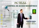 CONTROL DE ACCESO ASISTENCIA BIOMÉTRICO