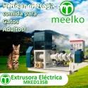 Extrusora Meelko para alimento de gatos