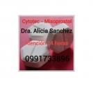 Pastillas abortivas Riobamba 0991733896