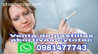 Pastillas cytotec Tulcan 0981477743