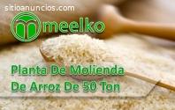 Planta de molienda de arroz de 50 ton/dí
