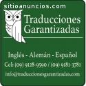 Traducciones Garantizadas