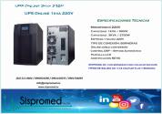 UPS 3KVA 220V ideal para plotter u otros