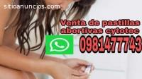 Venta cytotec en SANTO DOMINGO 981477743