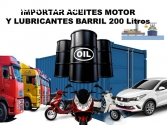 Aceites de motor Auto Camion Import